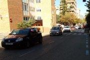 Alcañiz. Vehículos recorren las calles contra la Ley Celaá