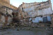 Nuevo desprendimiento aumenta la inseguridad y el abandono en el casco antiguo de Alcañiz