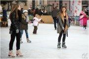 Patinaje sobre hielo en Alcorisa