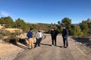 Previstas mejoras en la carretera entre Aguaviva y Las Parras