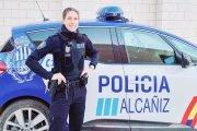 Una Policía de Alcañiz, la primera instructora de tiro de Aragón
