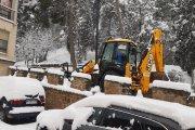 Piden no transitar por Alcañiz: hielo, incremento de Covid y colapso en urgencias