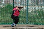 La alcañizana Elena Sanz se supera con un martillo más pesado