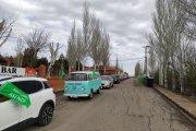 Caravana protesta: renovables sí, pero sin destruir paisajes