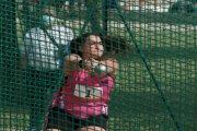 Elena Sanz sigue lanzando el martillo cada vez más lejos