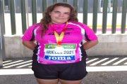 La alcañizana Elena Sanz logra un bronce nacional con su martillo