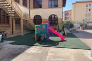Caspe. Mejoras en centros educativos y parques
